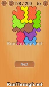 Ocus Puzzle Walkthrough Medium Level 128