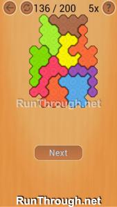Ocus Puzzle Walkthrough Medium Level 136