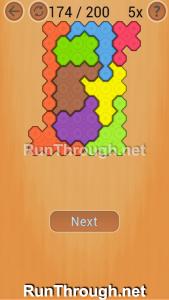 Ocus Puzzle Walkthrough Medium Level 174