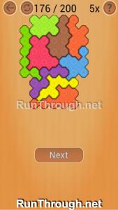 Ocus Puzzle Walkthrough Medium Level 176