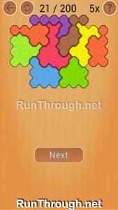 Ocus Puzzle Walkthrough Medium Level 21