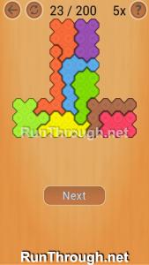 Ocus Puzzle Walkthrough Medium Level 23