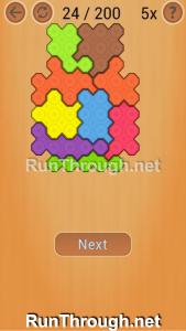 Ocus Puzzle Walkthrough Medium Level 24
