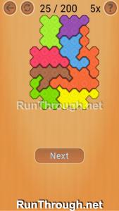 Ocus Puzzle Walkthrough Medium Level 25