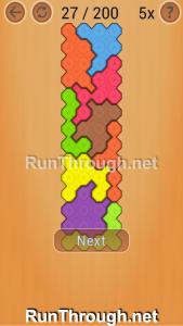 Ocus Puzzle Walkthrough Medium Level 27