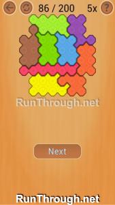 Ocus Puzzle Walkthrough Medium Level 86