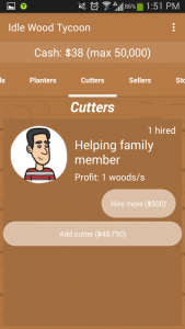 Idle Wood Tycoon Cutters