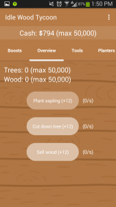 Idle Wood Tycoon Overview 2