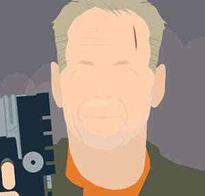 Bruce Willis Icomania Level 9