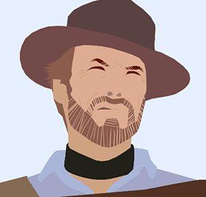 Clint Eastwood Icomania Level 8