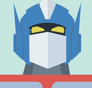 Optimus Prime Icomania Level 8
