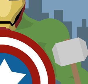 The Avengers Icomania Level 8