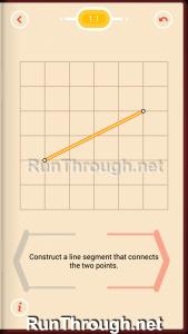 Pythagorea Walkthrough 1 Length and Distance Level 1