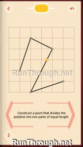 Pythagorea Walkthrough 1 Length and Distance Level 11
