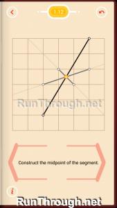 Pythagorea Walkthrough 1 Length and Distance Level 12