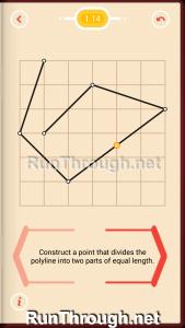 Pythagorea Walkthrough 1 Length and Distance Level 14