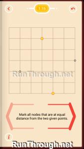 Pythagorea Walkthrough 1 Length and Distance Level 16