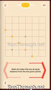 Pythagorea Walkthrough 1 Length and Distance Level 17