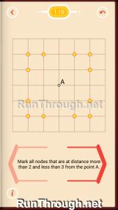 Pythagorea Walkthrough 1 Length and Distance Level 19