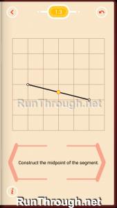 Pythagorea Walkthrough 1 Length and Distance Level 3
