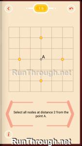 Pythagorea Walkthrough 1 Length and Distance Level 6