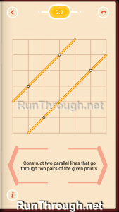 Pythagorea Walkthrough 2 Parallels Level 3
