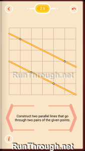 Pythagorea Walkthrough 2 Parallels Level 5