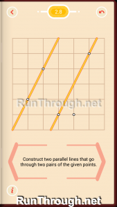 Pythagorea Walkthrough 2 Parallels Level 8