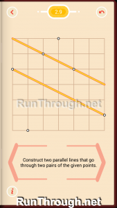 Pythagorea Walkthrough 2 Parallels Level 9