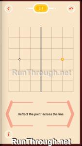 Pythagorea Walkthrough 5 Reflection Level 1