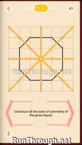 Pythagorea Walkthrough 5 Reflection Level 10