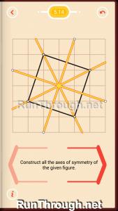 Pythagorea Walkthrough 5 Reflection Level 14