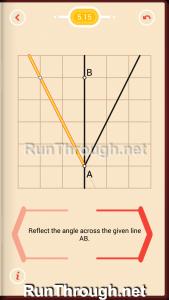 Pythagorea Walkthrough 5 Reflection Level 15