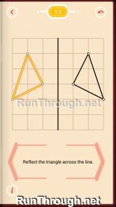 Pythagorea Walkthrough 5 Reflection Level 3