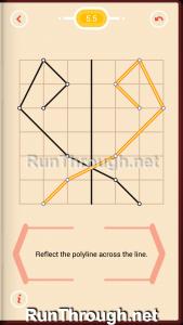 Pythagorea Walkthrough 5 Reflection Level 5
