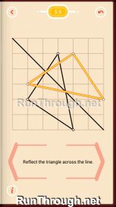 Pythagorea Walkthrough 5 Reflection Level 6