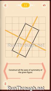 Pythagorea Walkthrough 5 Reflection Level 9