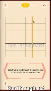 Pythagorea Walkthrough 6 Perpendiculars Level 1