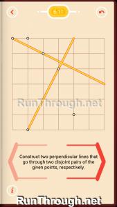 Pythagorea Walkthrough 6 Perpendiculars Level 11