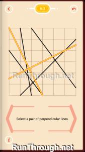 Pythagorea Walkthrough 6 Perpendiculars Level 3