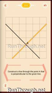 Pythagorea Walkthrough 6 Perpendiculars Level 4