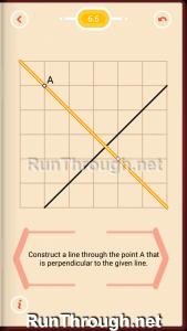 Pythagorea Walkthrough 6 Perpendiculars Level 5