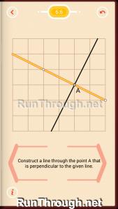 Pythagorea Walkthrough 6 Perpendiculars Level 6