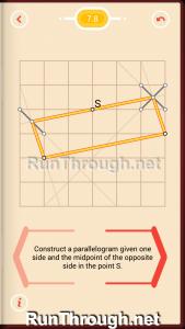 Pythagorea Walkthrough 7 Parallelograms Level 8