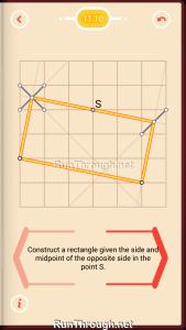 Pythagorea Walkthrough 11 Rectangles Level 10