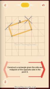 Pythagorea Walkthrough 11 Rectangles Level 11