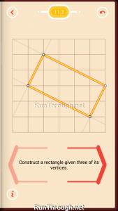 Pythagorea Walkthrough 11 Rectangles Level 2