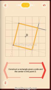 Pythagorea Walkthrough 11 Rectangles Level 6