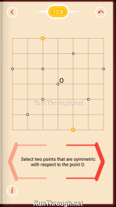 Pythagorea Walkthrough 12 Point-Symmetry Level 8