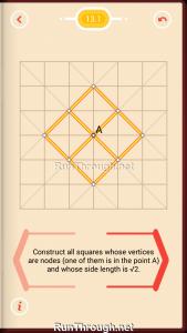 Pythagorea Walkthrough 13 Pythagorean-Theorem Level 1